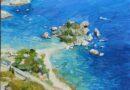 Paesaggio siciliano dell'artista Lia Aminov – 2