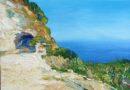 Paesaggio siciliano dell'artista Lia Aminov