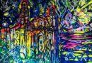 Paesaggio siciliano dell'artista Larisa Kaplan